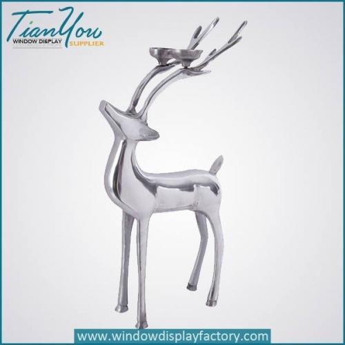 Various Fiberglass Deer Craft Christmas Decoration