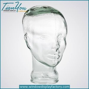New Style Colorful Glass Head Mannequin Display