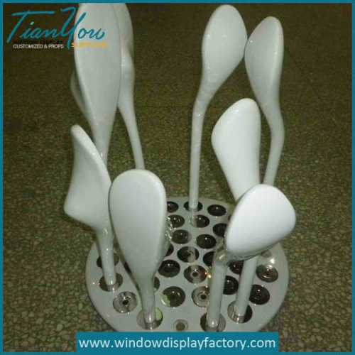 Custom Fiberglass Golf Clubs Display