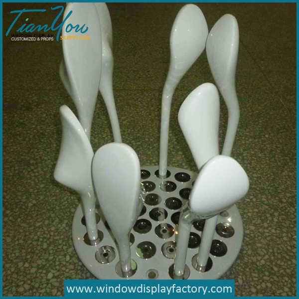 Custom Fiberglass Golf Clubs Display