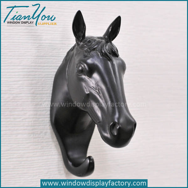 horse head mannequin - Wall Decoration Colorful Fiberglass Horse Head