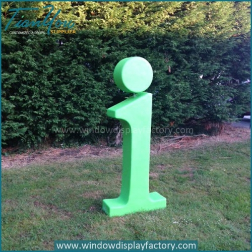 i 500x500 - Outdoor Colorful Fiberglass Giant Letters Display