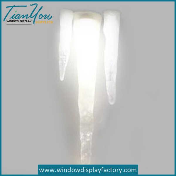 Fashion Crystal Resin Icicle Light Decoration