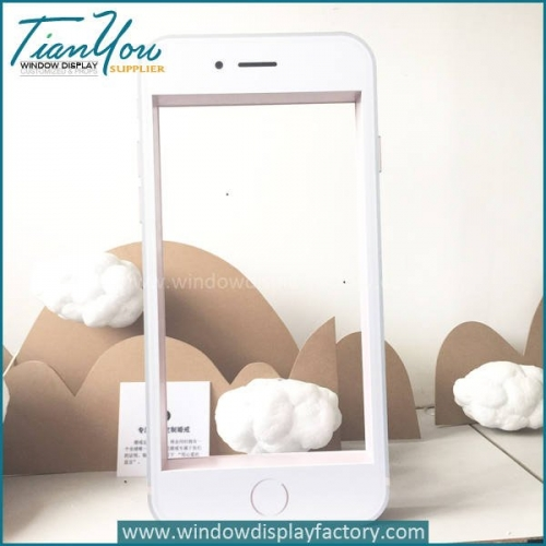 Popular Custom Giant Fiberglass Iphone Frame Display