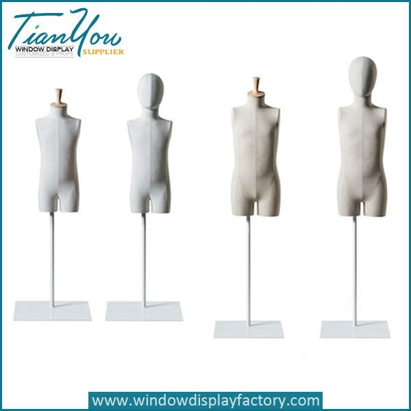 linen torso dress form - Latest Custom Half Body Linen Torso Mannequin