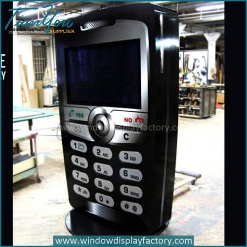 Simulation Life Size Fiberglass Mobile Display Props