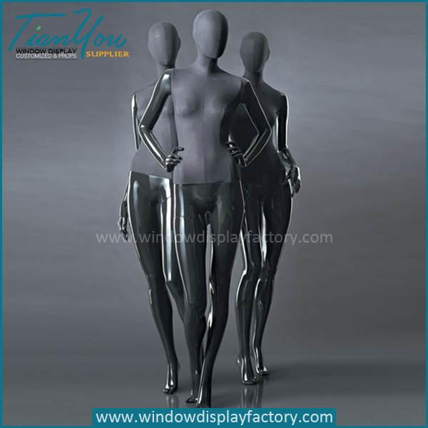 modern fiberglass linen female mannequin - Latest Custom Half Body Linen Torso Mannequin