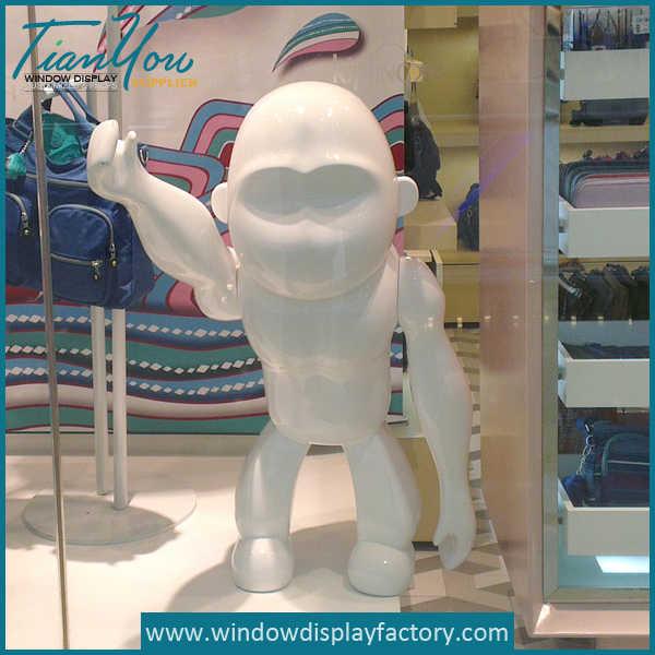 Window Display Carved Foam Gorilla Statues