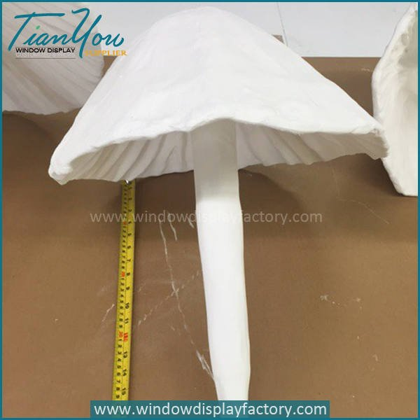 mushroom b - Artificial Popular Giant Fiberglass Mushroom Decoration