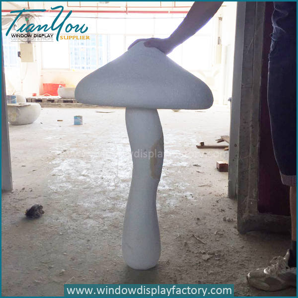 mushroom3 2 - Artificial Popular Giant Fiberglass Mushroom Decoration