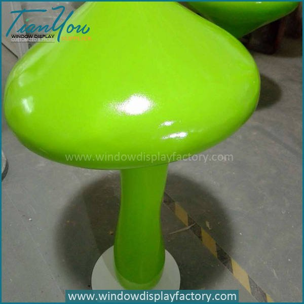 mushroom8 - Artificial Popular Giant Fiberglass Mushroom Decoration