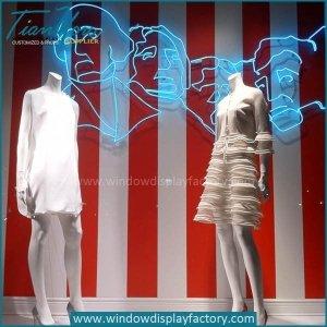 Popular Decoration Neon Figure Lights Display