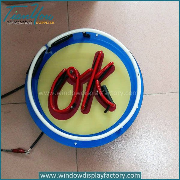 ok neon2 - Popular OK Neon Light Signs Decoration
