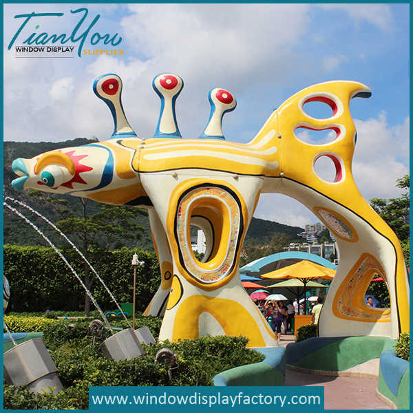 outdoor2 - Giant Outdoor Amusement Park Fiberglass Statues