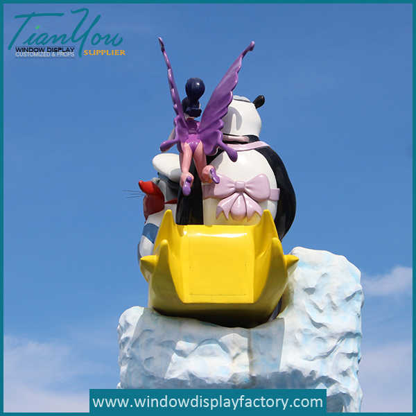 outdoor4 - Amusement Park Giant Outdoor Foam Statues