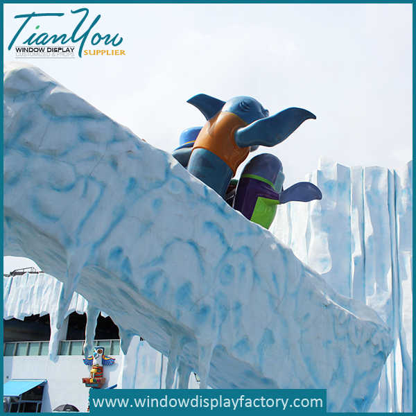 Amusement Park Giant Outdoor Foam Statues