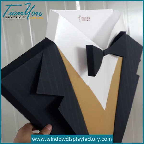Custom Handmade Paper Shit Tie Display