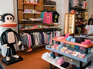 Paul Frank Window Display