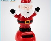 Plastic Christmas Craft Decoration Cute Santa Claus Gift