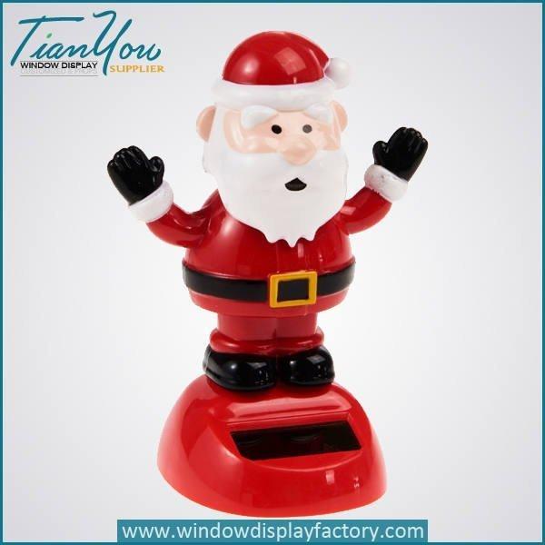 Plastic Christmas Craft Decoration Cute Santa Claus Gift