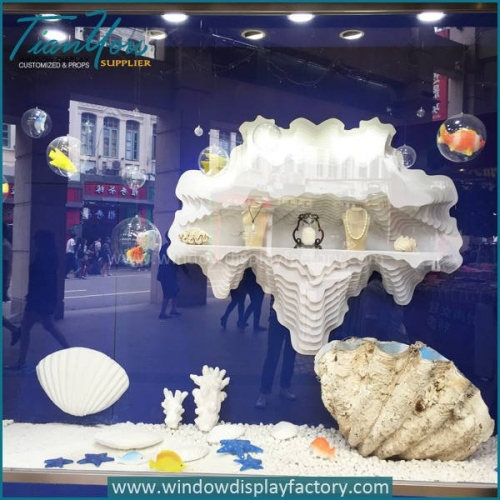Lovely Giant Shell Shop Window Display