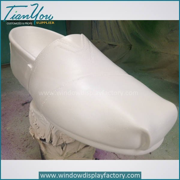 Custom Giant Fake Fiberglass Shoes Display Props