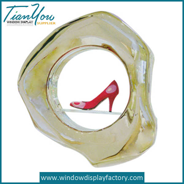 Red High Heeled Fiberglass Shoes Display Props