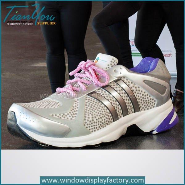 shoes3 - Custom Giant Fake Fiberglass Shoes Display Props