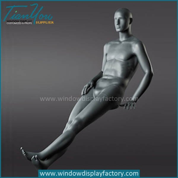 sit mannequin - Modern Popular Colored Sitting Mannequins Display