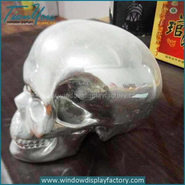 skull2 - Halloween Decoration Resin Skull Head Display