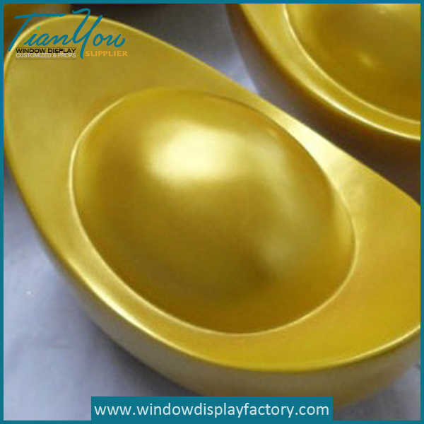 Custom Giant Gold Resin Treasure Props