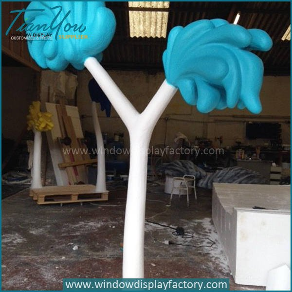 tree3 - Lovely Colorful Foam Artificial Indoor Plants Decoration