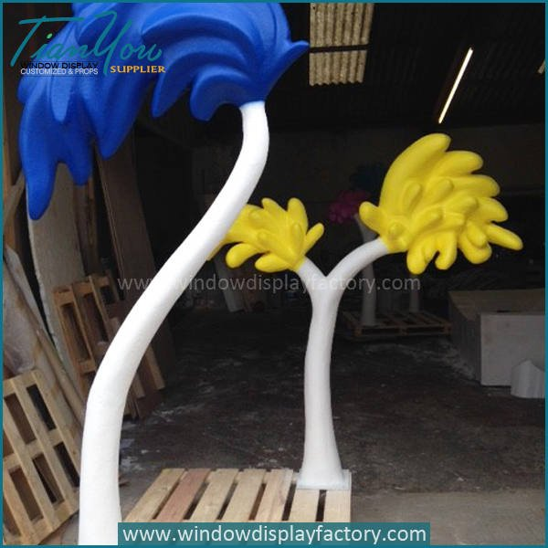 tree4 - Lovely Colorful Foam Artificial Indoor Plants Decoration