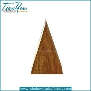 Creative New Style Wood Triangle Display Stand