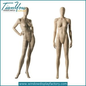 2017 Custom Female Vintage Cracked Mannequin