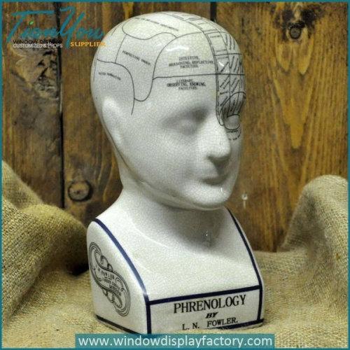 Vintage Decorative Resin Head Craft Display