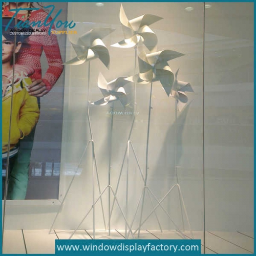 Decorative Metal Windmill Economic Ornament