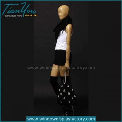 Fashion High Quality Female Wood Mannequin
