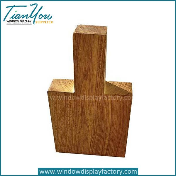 wood mannequin display based - New Style Custom Wood U Shape Display Stand Fixtures