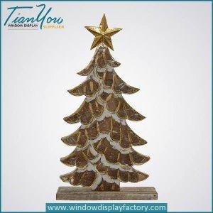 Artificial Custom Wood Christmas Tree Decoration