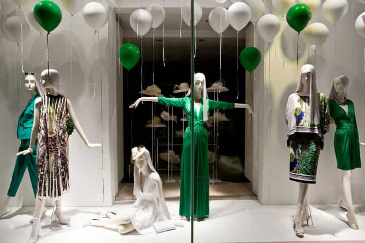 2013 London Bond Street Fenwick window