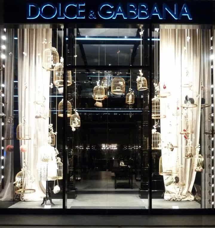 Dolce & Gabbana Window Display