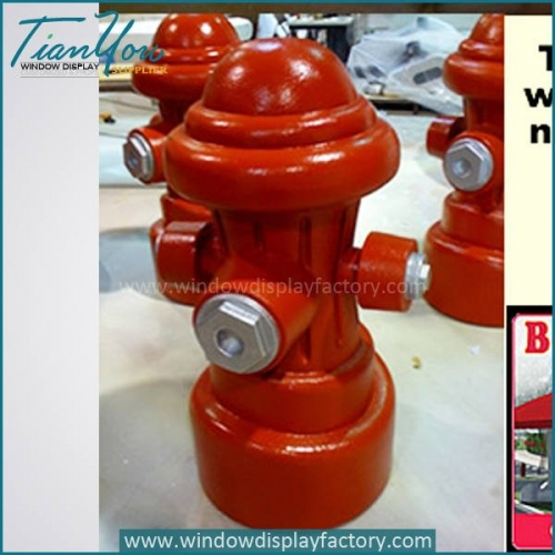 Outdoor Ground High Quality Fiberglass Fire Hydrant