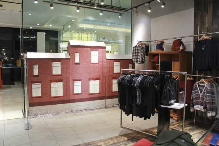 Fred Perry Christmas Windows Display
