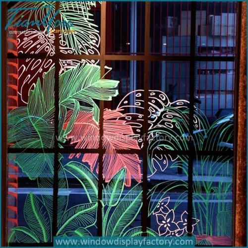 flower shop window displays