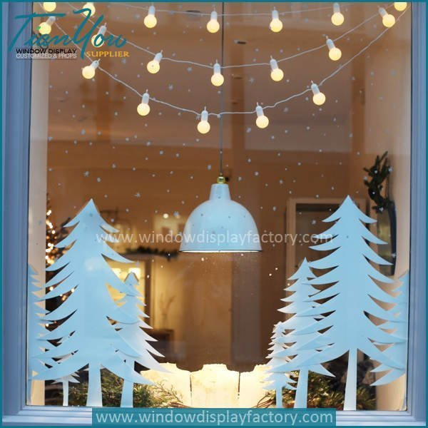 Christmas Window Displays.Christmas Window Lights Decoration China Display Props Factory