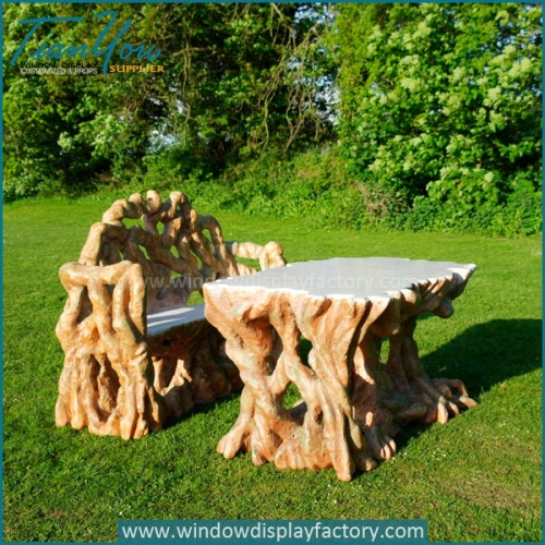 Garden Outdoor Fiberglass Furniture Park Decoration