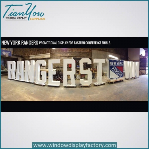 Custom Brand Giant Adversting Acrylic Letters Logo