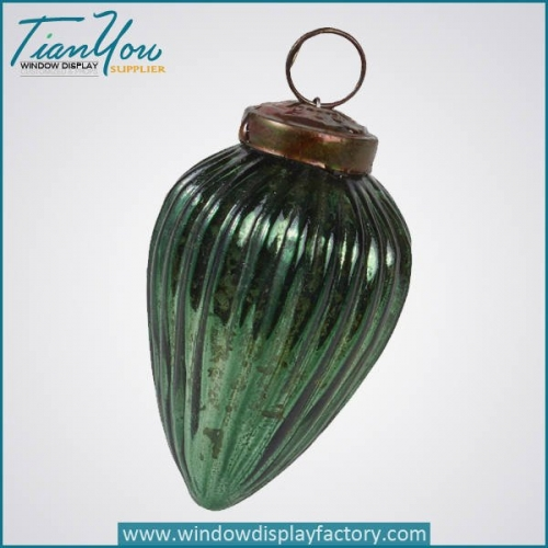 Imitation Metal Electroplated Resin Christmas Decoration