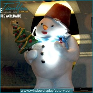 Hand Craft Life Size Foam Snowman Decoration